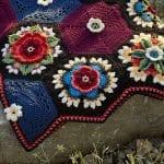 Frida'nın Çiçekleri Battaniye Yapılışı 2