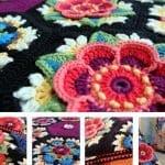Frida'nın Çiçekleri Battaniye Yapılışı 30