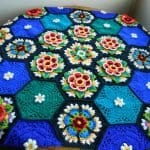 Frida'nın Çiçekleri Battaniye Yapılışı 31