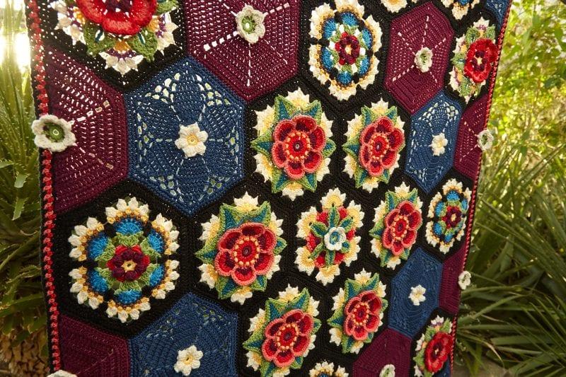 Frida'nın Çiçekleri Battaniye Yapılışı 32