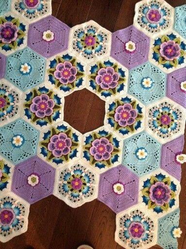 Frida'nın Çiçekleri Battaniye Yapılışı 5