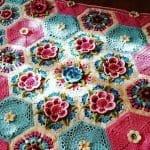 Frida'nın Çiçekleri Battaniye Yapılışı 6