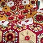 Frida'nın Çiçekleri Battaniye Yapılışı 8