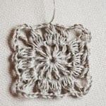 Kumaşla Motifli Örgü Çocuk Elbise Yapımı 10