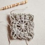 Kumaşla Motifli Örgü Çocuk Elbise Yapımı 12