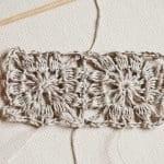 Kumaşla Motifli Örgü Çocuk Elbise Yapımı 13