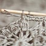 Kumaşla Motifli Örgü Çocuk Elbise Yapımı 15