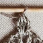 Kumaşla Motifli Örgü Çocuk Elbise Yapımı 23