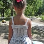Örgü Bebek Elbisesi Tığ İşi
