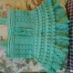 Örgü Bebek Elbisesi Tığ İşi 25