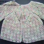 Tığ İşi Bebek Hırka Modelleri Anlatımlı 34