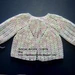 Tığ İşi Bebek Hırka Modelleri Anlatımlı 35