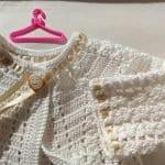 Tığ İşi Bebek Hırka Modelleri Anlatımlı 5