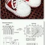 Tığ İşi Patik Modelleri 12