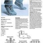 Tığ İşi Patik Modelleri 15