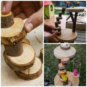 Üç Boyutlu Ağaç Yapımı Okul Öncesi 1
