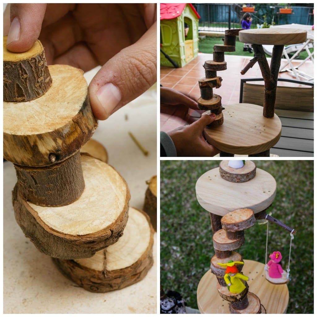 üç Boyutlu Ağaç Yapımı Okul öncesi Mimuucom