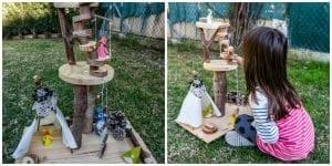 Üç Boyutlu Ağaç Yapımı Okul Öncesi