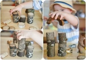 Ağaç Dallarından Ahşap Blok Yapımı 9