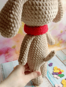 Amigurumi Oyuncak Köpek Yapımı