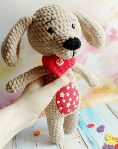 Amigurumi Oyuncak Köpek Yapımı 2