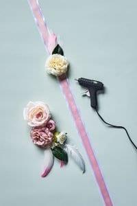 Çiçekli Elbise Kemeri 4