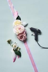 Çiçekli Elbise Kemeri 5