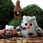 Çoraptan Baykuş Yapımı 18
