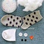 Çoraptan Baykuş Yapımı 2