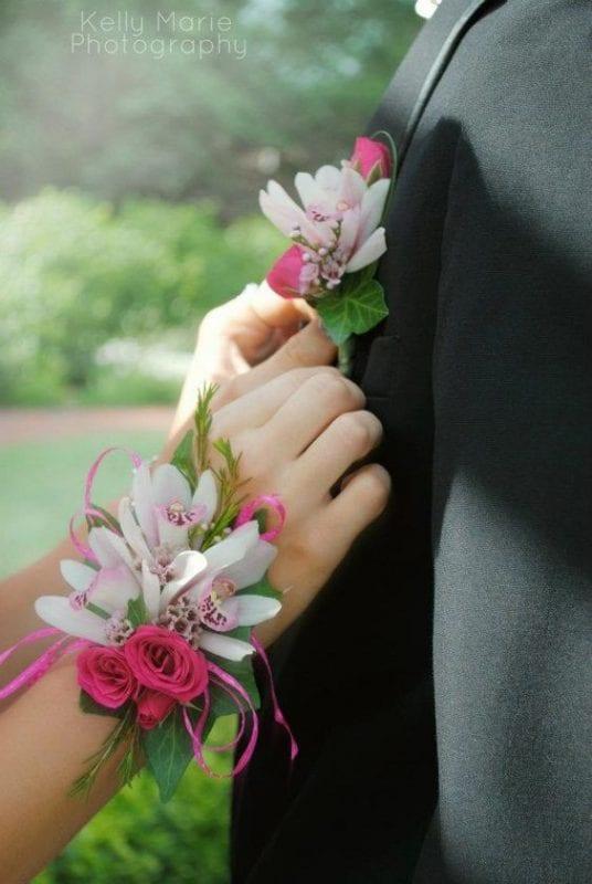 Gelin Bilekliği ve Damat Yaka Çiçeği Modelleri 51