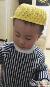 Kağıt İpten Minion Şapka Yapılışı 5