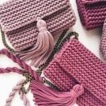 Penye İpten Haraşo Çanta Yapımı 12