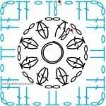 Tığ İşi Örgü Motif Şemaları 103
