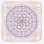 Tığ İşi Örgü Motif Şemaları 111