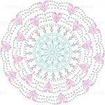 Tığ İşi Örgü Motif Şemaları 122