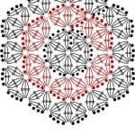 Tığ İşi Örgü Motif Şemaları 127