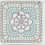 Tığ İşi Örgü Motif Şemaları 136