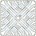 Tığ İşi Örgü Motif Şemaları 145