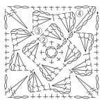 Tığ İşi Örgü Motif Şemaları 151