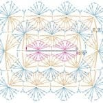 Tığ İşi Örgü Motif Şemaları 157