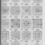 Tığ İşi Örgü Motif Şemaları 162