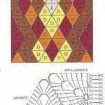 Tığ İşi Örgü Motif Şemaları 166