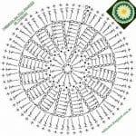 Tığ İşi Örgü Motif Şemaları 179