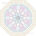 Tığ İşi Örgü Motif Şemaları 181