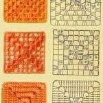 Tığ İşi Örgü Motif Şemaları 23
