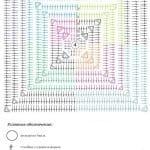 Tığ İşi Örgü Motif Şemaları 28