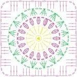 Tığ İşi Örgü Motif Şemaları 51