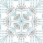 Tığ İşi Örgü Motif Şemaları 61