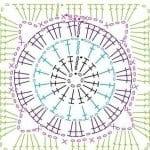 Tığ İşi Örgü Motif Şemaları 6