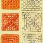 Tığ İşi Örgü Motif Şemaları 93